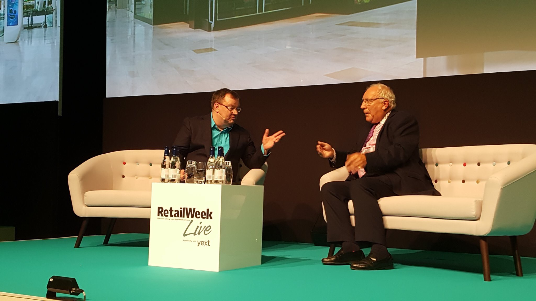 Declan Curry has a conversation the audience really enjoyed with John Timpson, the chairman of the family-owned Timpson chain, offering shoe repairs, key cutting and dry cleaning at Retail Week Live 2017.