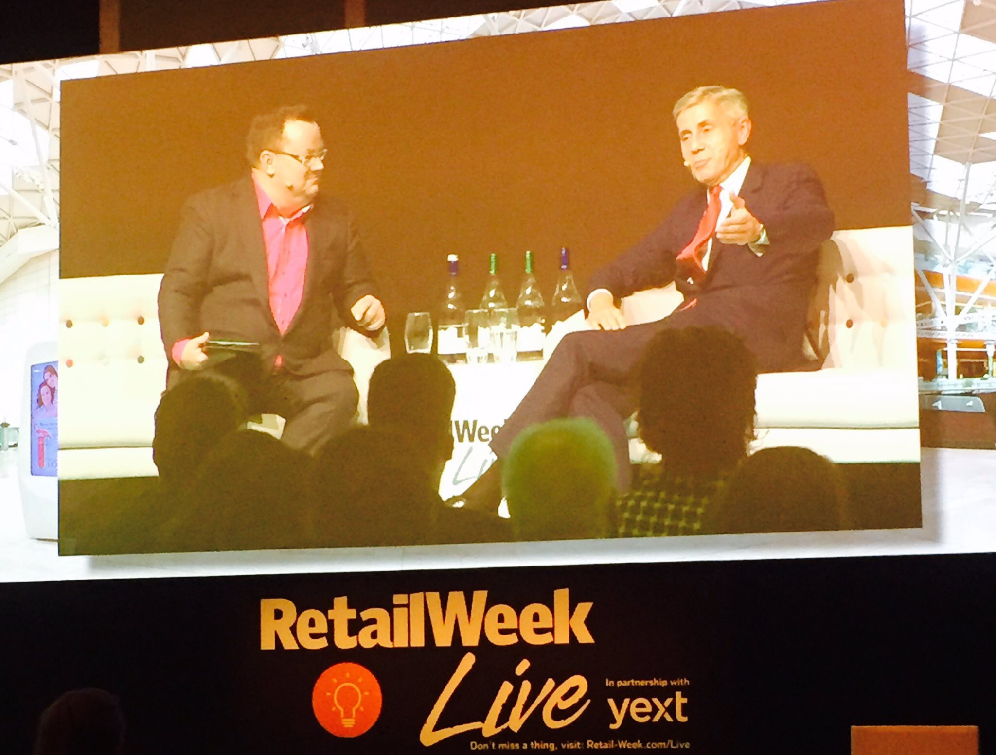 Declan Curry has a half-hour conversation with Lord Rose - former M&S boss Stuart Rose at Retail Week Live 2017.