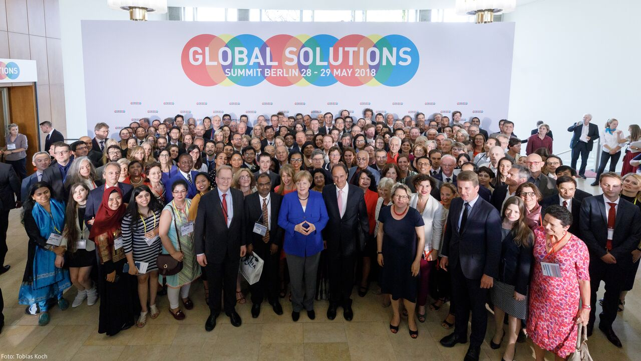 Global Solutions summit, Berlin - May 2018